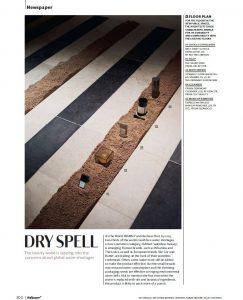 The Silver Soap in Wallpaper magazine